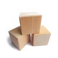 Основа для бизикубика деревянная сосна, 4 см