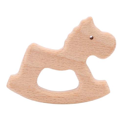 Деревянный грызунок лошадь №2