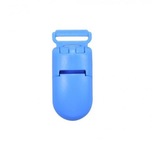 Клипса пластиковая для грызунка голубая