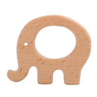 Деревянный грызунок слон