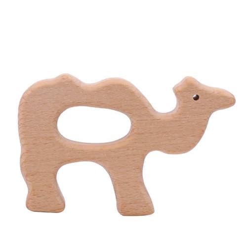 Деревянный грызунок верблюд
