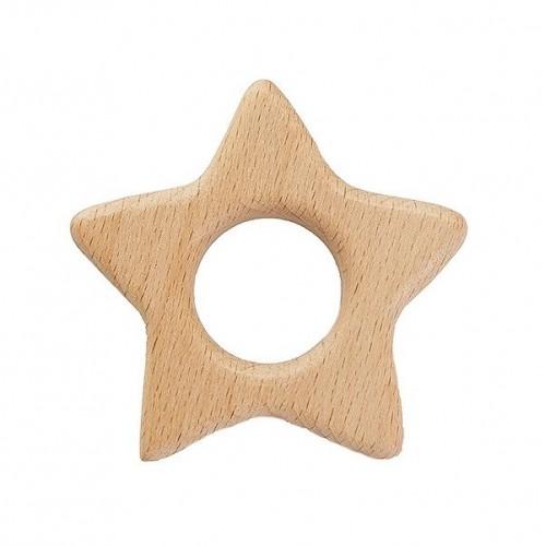 Деревянный грызунок Звезда