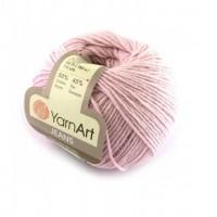 Нитки для вязания YarnArt Jeans, лиловый №18