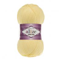Нитки для вязания Alize Cotton Gold, Светло-желтый №187