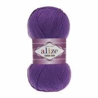 Нитки для вязания Alize Cotton Gold, Фиолетовый №44