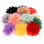 Шифоновые цветы