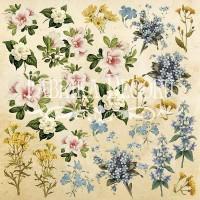 """Картинки для вырезания """"Botany summer"""" №1 Фабрика Декору"""