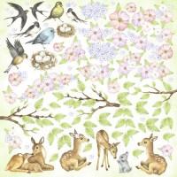 """Картинки для вырезания """"Smile of spring"""" Фабрика Декору"""