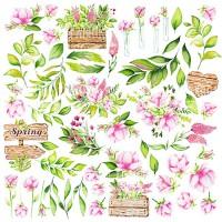 "Картинки для вырезания ""Spring Blossom"" Фабрика Декору"