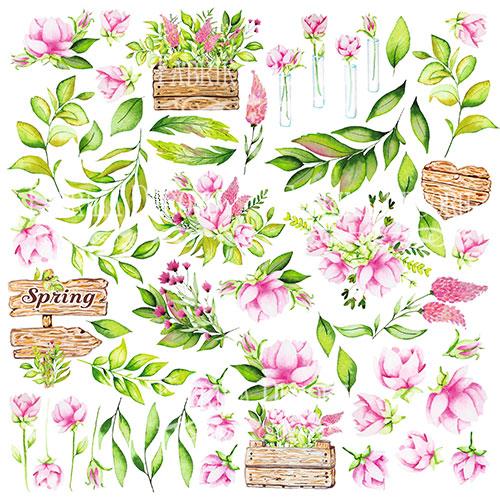 """Купить картинки для вырезания """"Spring Blossom"""" Фабрика Декору"""
