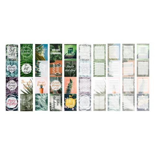 Набор полос с картинками для декорирования Green 5 шт 5х30,5 см Фабрика Декору