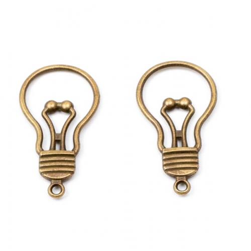 Металлический декор Лампочка, фото