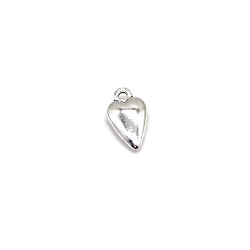 Металлический декор Сердце №9 Серебро, фото