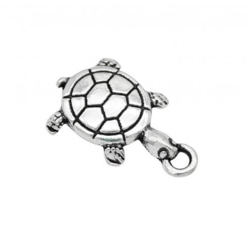 Металлический декор черепаха, фото