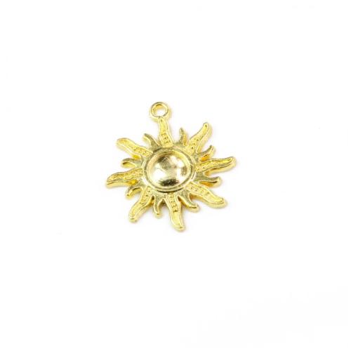 Металлический декор Солнце Золото 2.5х3 см фото