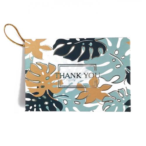 Мини-открытка Thank you # 2, 9х6.5 см