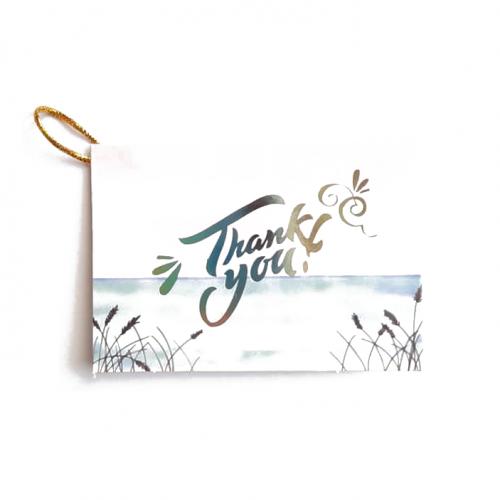 Мини-открытка Thank you #10, 9х6.5 см
