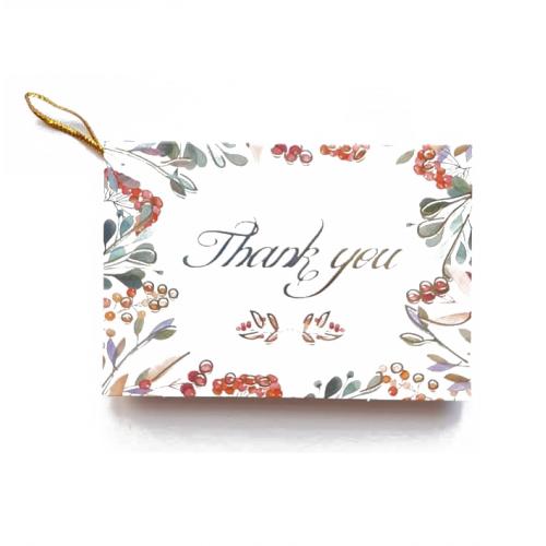 Мини-открытка Thank you #13, 9х6.5 см