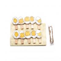 Набор прищепок декоративных Яйца, 10 шт