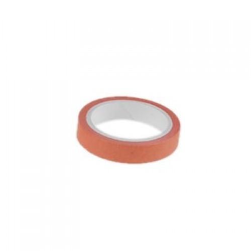Декоративный бумажный скотч Оранжевый фото