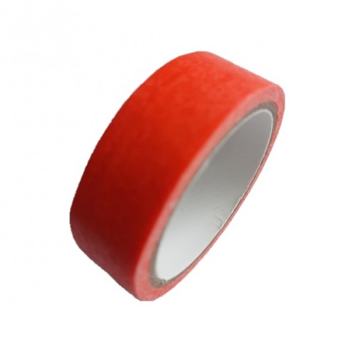 Декоративный бумажный скотч Темно-оранжевый