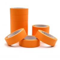Декоративный бумажный скотч Оранжевый
