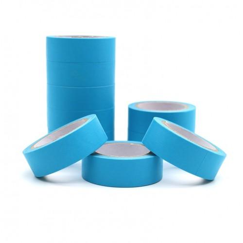 Декоративный бумажный скотч Голубой фото