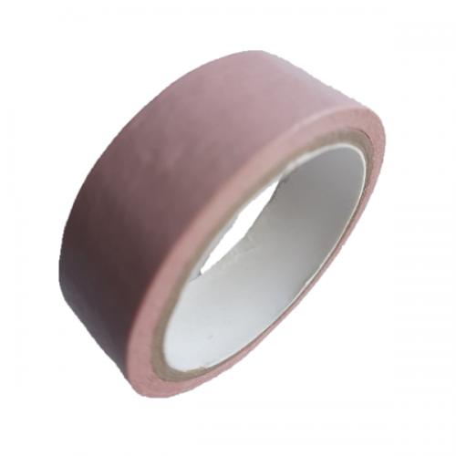 Декоративный бумажный скотч Бледно-розовый