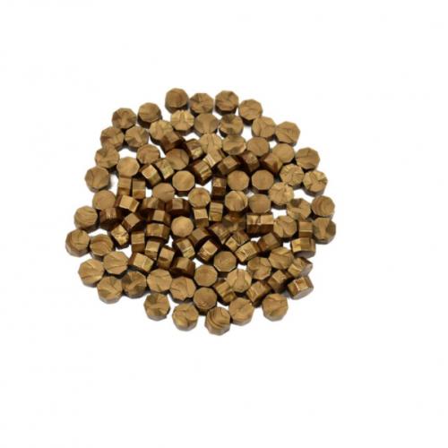 Сургуч в гранулах коричневый перламутровый, 9 мм