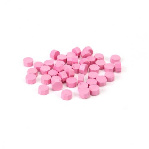 Сургуч в гранулах светло-розовый, 9 мм