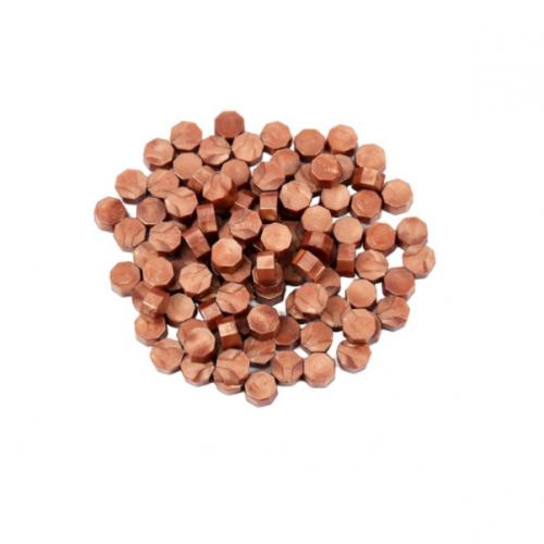 Сургуч в гранулах медь перламутровый, 9 мм
