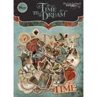 Набор высечек для скрапбукинга Time to Dream от Scrapmir, 39 шт