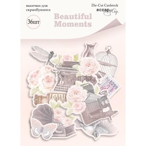 Набор высечек для скрапбукинга Beautiful Moments от Scrapmir фото