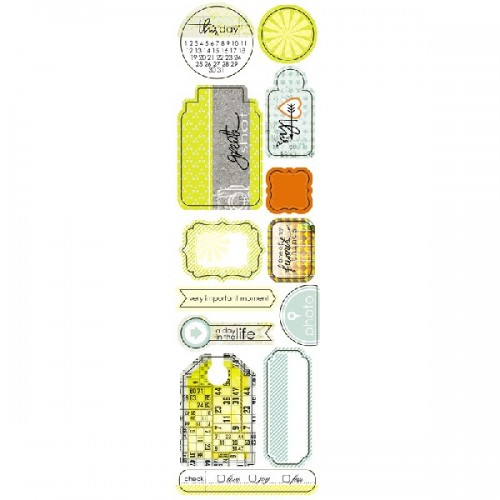 Высечки серии Attic Door от Lemon Owl, 10х30 см