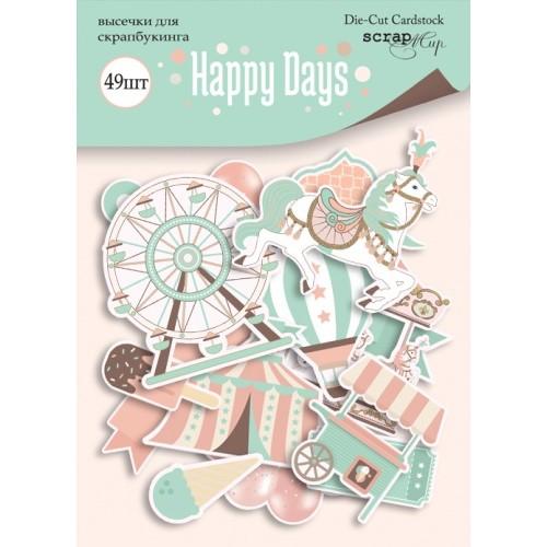 Набор высечек для скрапбукинга Happy Days от Scrapmir фото