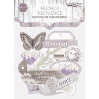 Набор высечек для скрапбукинга French Provence от Scrapmir, 55 шт