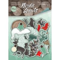 Набор высечек для скрапбукинга Nordic Spirits от Scrapmir, 59 шт