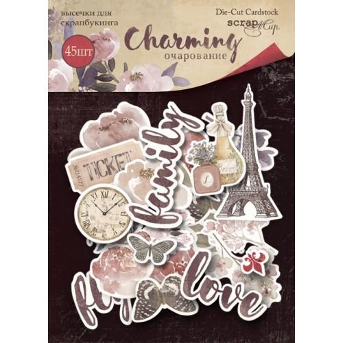Набор высечек для скрапбукинга Charming (Очарование) от Scrapmir 45 шт фото