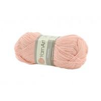 Акриловая пряжа для вязания YarnArt Etamin персиковый № 456, 30 г