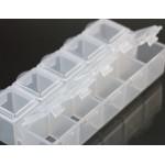 Контейнер - органайзер 10 ячеек 6*13,5 см