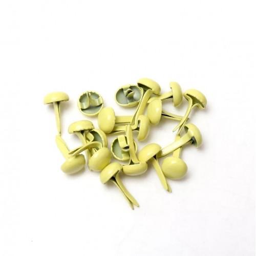Брадс Светло-желтый, 8х5 мм