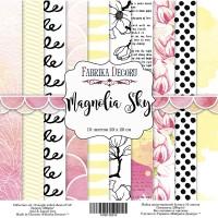 """Набор скрапбумаги """"Magnolia Sky"""" 20x20 см, Фабрика Декору"""