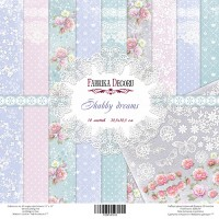 "Набор скрапбумаги ""Shabby Dreams"" 30,5 x 30,5 см, Фабрика Декору"