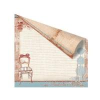 Лист двусторонней бумаги 30x30 Prima En Francais Collection La Chaise