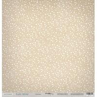 Лист односторонней бумаги 30x30 от Scrapmir Снегопад из коллекции Rustic Winter