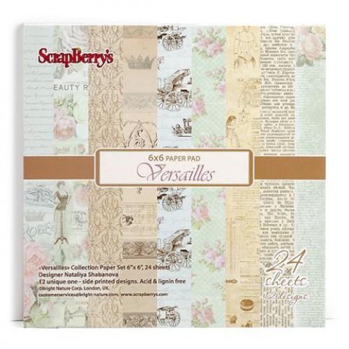 Набор бумаги Версаль 15*15 см Scrapberry's, 24 л