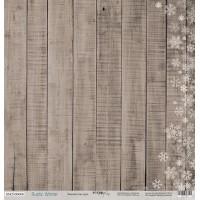 """Лист односторонней бумаги 30x30 от Scrapmir """"Rustic winter"""", Зимняя текстура"""