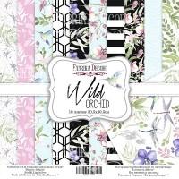 "Набор скрапбумаги ""Wild Orchid"" 30,5x30,5см, Фабрика Декору"