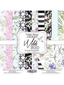 "Набор скрапбумаги ""Wild Orchid"", 30,5x30,5см, Фабрика Декору"