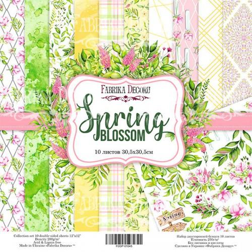 """купить набор скрапбумаги """"Spring Blossom"""" 30,5x30,5 см, Фабрика Декору"""